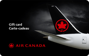 Air Canada Gift Card