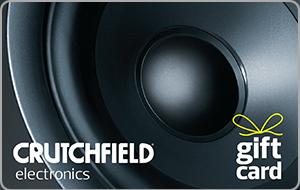 Crutchfield® Gift Card