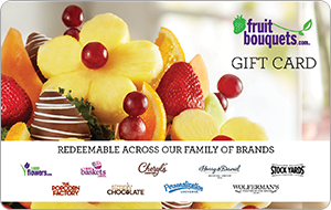 Fruit Bouquets Gift Card