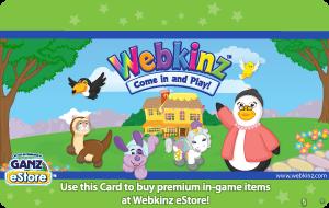 Ganz Webkinz Gift Card