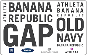 Gap Options Gift Card