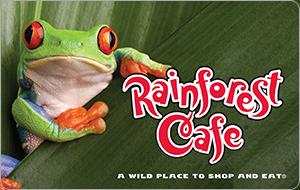Rainforest Café Gift Card