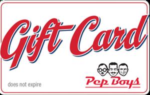 Pep Boys Gift Card