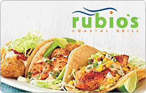 Rubio's Coastal Grill Gift Card